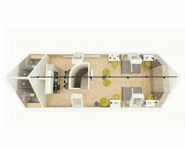 Podkrovný byt v centre mesta