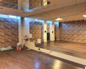 Exkluzívny priestor na prenájom v známom Bratislavskom Fitness centre v Prievoze na Domkárskej ulici, Bratislava