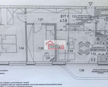 PREDAJ, projekt MATADORKA 3izb.byt + parking + pivničná kobka