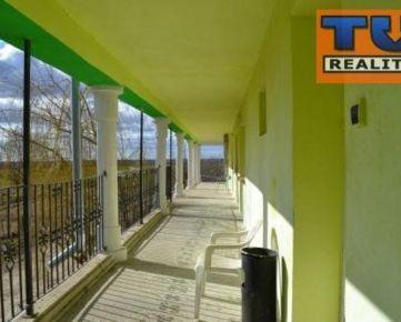 Na predaj polyfunkčný objekt - ubytovacie zariadenie s reštauračným priestorom ! 621 m2