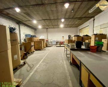 Na prenájom skladový, výrobný priestor 713 m2 v priem. zóne v Žiline