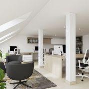 Kancelárie, administratívne priestory 129m2, čiastočná rekonštrukcia