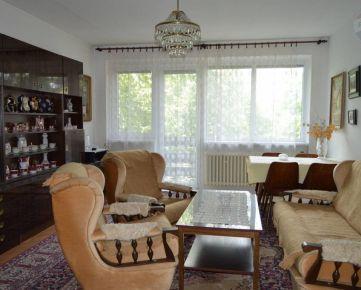 REZERVOVANÉ! Predaj 4 izbový byt Nitra centrum