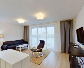 Na prenájom kompletne zariadený 3-i. byt s balkónom a šatníkom, Lomená, Košice (9C)