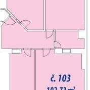 4-izb. byt 102m2, kompletná rekonštrukcia