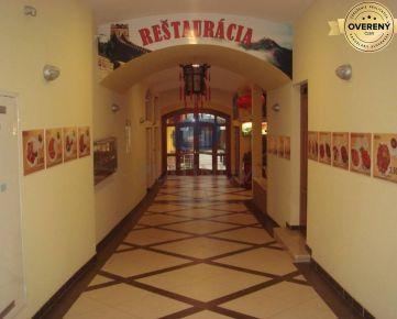 Prenájom reštaurácie na Obchodnej ul. 309 m2, suterén