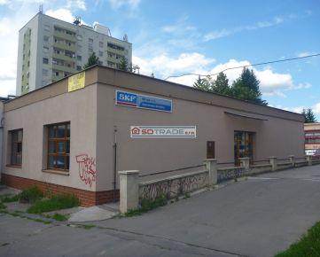Prenájom  zrekonštruovanej budovy na sídlisku Podborová vo Zvolene