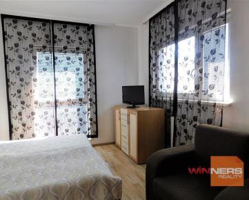 Kompletne zariadený apartmán v modernom komplexe MELROSE na Betliarskej ulici v Petržalke
