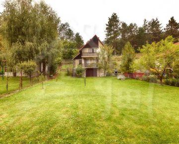 Útulná chata s vlastným pozemkom na Bukovej pod horami