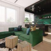 1-izb. byt 36m2, pôvodný stav