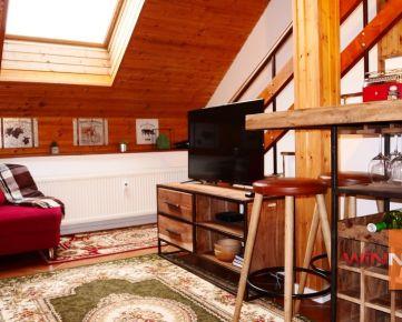Prenájom 1,5-izbového podkrovného bytu v centre Košíc – na Štúrovej ulici