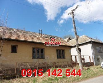 Na predaj rodinné domy s pozemkom v obci Veľká Ves