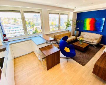 LEXXUS-PREDAJ elegantný 2i byt s balkónom a krásnym výhľadom,