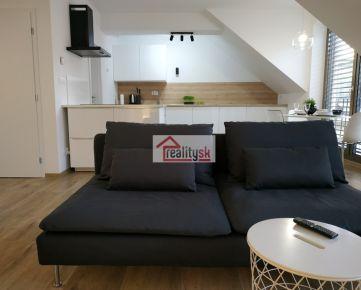 """REZERVOVANE: 3izbový byt v novostavbe """"PORTA"""" v centre mesta s parkovaním"""