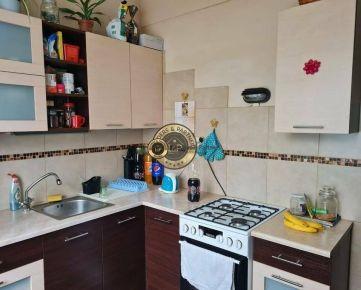 2 izbový byt Košice-sídlisko Ťahanovce, Belehradská, pôv. Stav, loggia