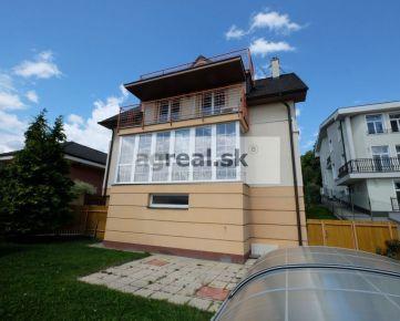 6-izb. rodinný dom s bazénom na prenájom - Bratislava III. Kramáre