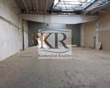 Skladový priestor o výmere 800 m2, Nitra
