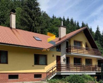 Zariadený rekreačný rodinný dom v obci Bystrá - investícia   JKV REAL