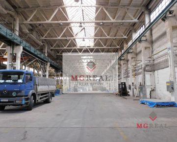 Na prenájom 1700 m2 výrobno-skladové priestory v Trnave