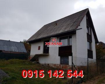 Na predaj rodinný dom v rekreačnej oblasti Látky ZNÍŽENÁ CENA!!!