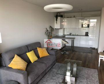Prenájmeme klimatizovaný 1 izbový byt v Petržalka City II s výhľadom na Chorvátske rameno.