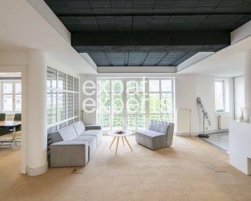 Kancelárske priestory 95 m2 + spoločne zdieľané 107 m2, 3x parkovanie