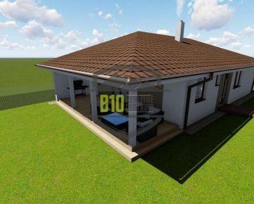 Novostavba-bungalov 4i RD v Janikovciach / na kľúč