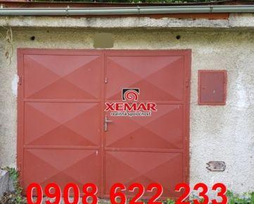 Na predaj garáž v meste Kremnica, okres Žiar nad Hronom