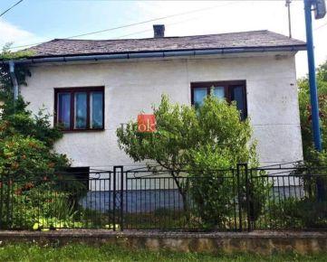 Rodinný dom/chalupa Kvakovce (rek.oblasť Domaša) na predaj