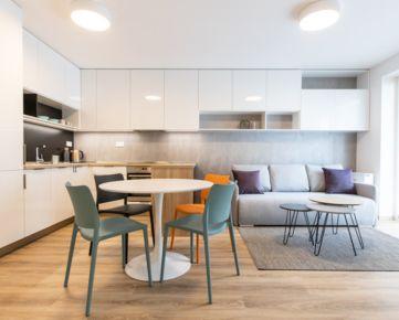 Ponúkame EXKLUZÍVNE na prenájom 2-izbový byt s krásnym výhľadom do parku v novostavbe Urban Residence.