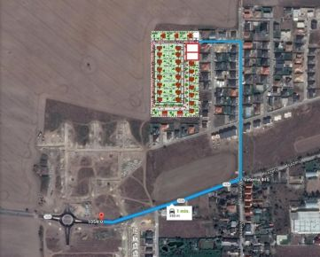 Rovinatý stavebný pozemok v Miloslavove, ideálna výmera 613 m2