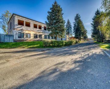 Administratívna budova s rozsiahlym pozemkom na predaj, Strojnícka ulica, Prešov - Nižná Šebastová