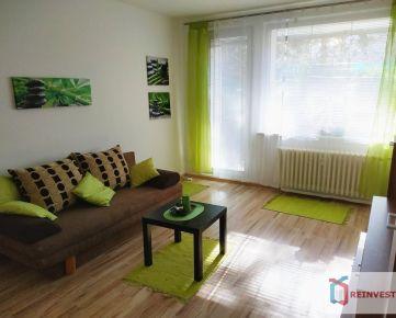 Pekný 1i byt s velkou loggiou, komorou a vlastnou záhradou, nezastavaný výhľad - Super lokalita !!!