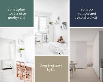 Pekný, útulný a úplne nový 1 izbový byt na prenájom