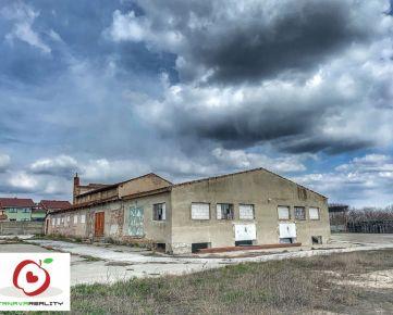 Na prenájom skladovo výrobné priestory v obci Majcichov