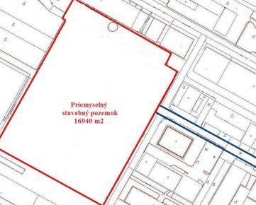 Predaj priemyselného stavebného pozemku 1,7 ha, Bratislava-Dúbravka