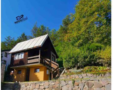 REKREAČNÁ CHATA, Banská Bystrica, FONČORDA, pozemok 496 m2, krásny výhľad