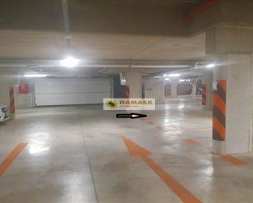 Prenájom parkovacieho státia v garáži v tesnej blízkosti Klientského centra - novostavba NIDO