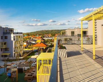 Predaj slnečného 4i bytu s veľkou terasou, novostavba Kolísky