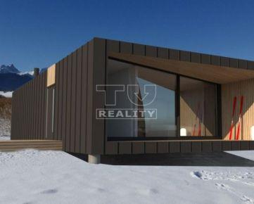 Modulové Bývanie-Horská chata, 77m2. CENA: 75 460,00 EUR