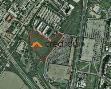 PANÓNSKA - lukratívny pozemok na komerčnú výst.,26700m2