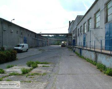 Výrobná a skladová hala v priemyselnom areáli 50km od BB
