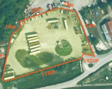Komerčný pozemok - 7100 m2 - Ľ. Stárka - Trenčín