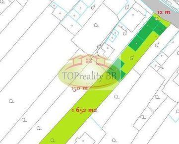 Rodinný dom s pozemkom 1 652 m2, 20 km od Banskej Bystrice – cena 148 000€