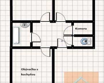 3 izb. byt, CINTORÍNSKA ul.