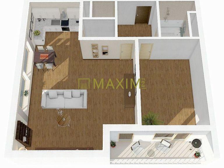 2-izb. byt 71m2, novostavba