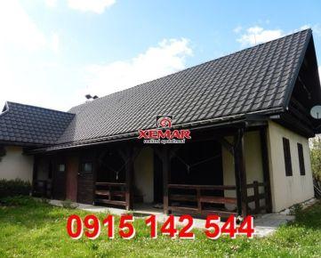 Na predaj rekreačná chata vhodná aj na trvalé bývanie- Detvianska Huta- Bratkovica