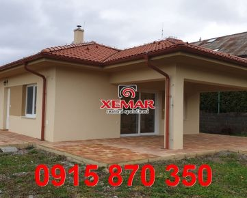 """Na predaj 5 izbová novostavba rodinného domu typu ʺbungalov"""" v Banskej Bystrici"""
