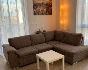Prenájom 1,5 izbový byt NOVOSTAVBA s garážovým státím, Plynárenská ulica, Bratislava II.Ružinov