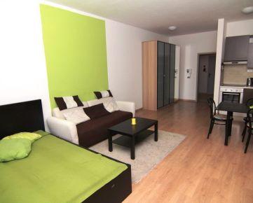 PRENÁJOM veľký 1 izb. byt, K lomu, DOBRÁ LOKALITA, ZARIADENÝ, pri Železnej studienke